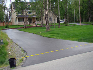 Valley Seal Coat Driveway Asphalt Sealing
