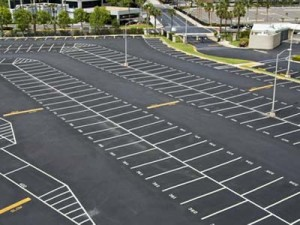 Commercial Parking Lot Striping by Valley Seal Coat