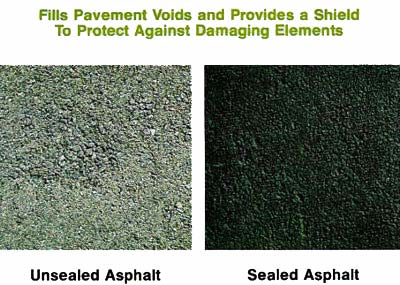 Sealcoating-driveways to protect them by Valley Seal Coat