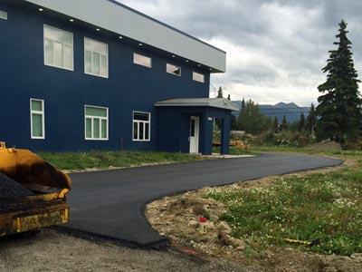 Paving Parking Lots and Driveways - Valley Seal Coat